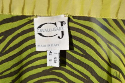 Just Cavalli Zebra Blouse detail label