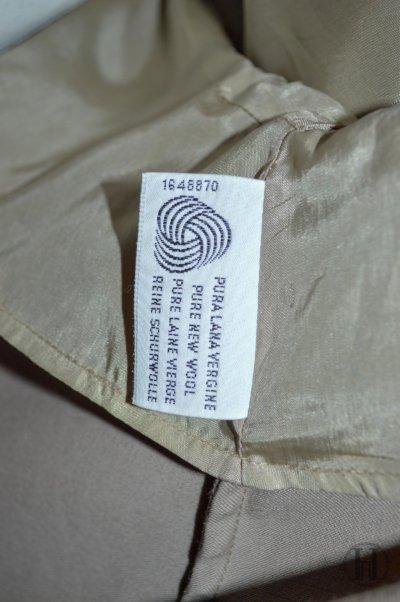 Marina Rinaldi vintage beige wool overcoat wool
