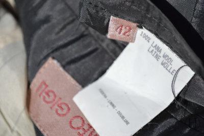 Romeo Gigli Vintage Brown Blazer size wool