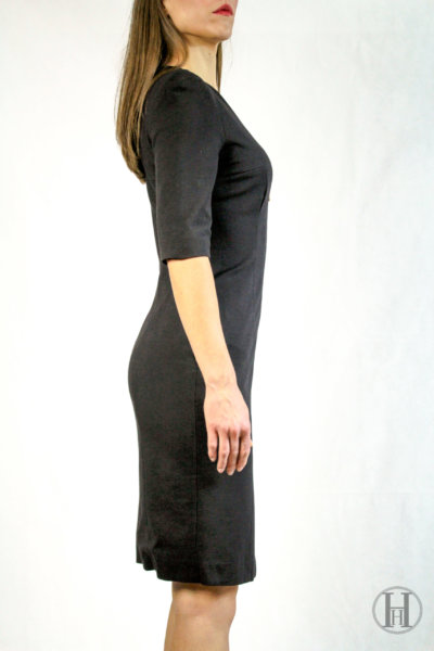 Giò Guerreri Vintage Black Dress Side