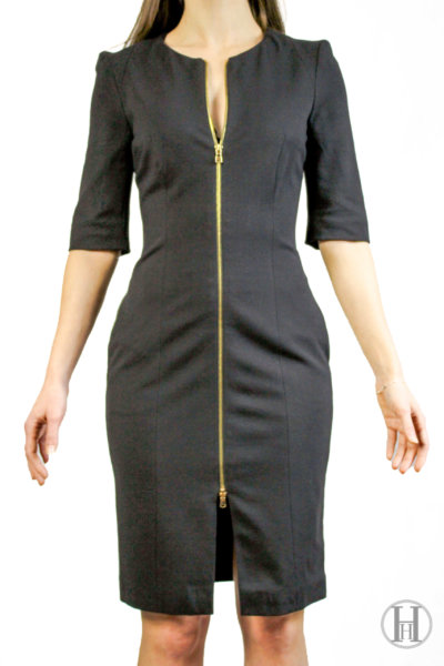 Giò Guerreri Vintage Black Dress Front