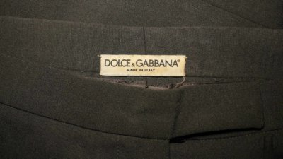 D&G Smart Trousers Label