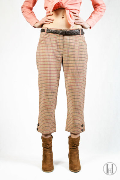 Vintage Sexy Trousers Front