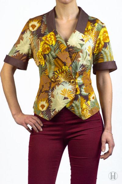 Pierre Cardin Floral Vintage Blouse