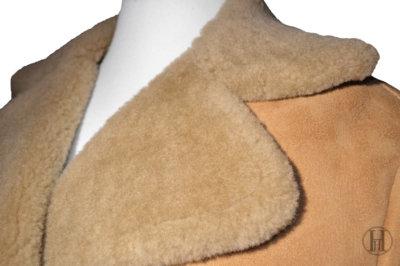 Shearling Coat Neck