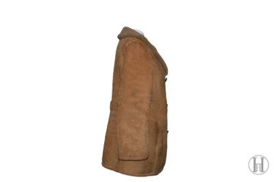 Woollen Shearling Coat side