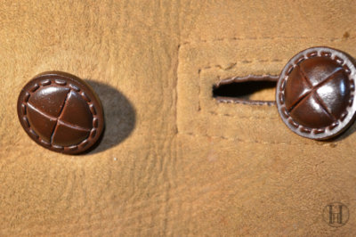 Shearling Coat Button