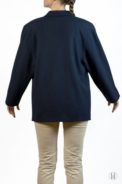 Vintage Cashmere Blazer Back