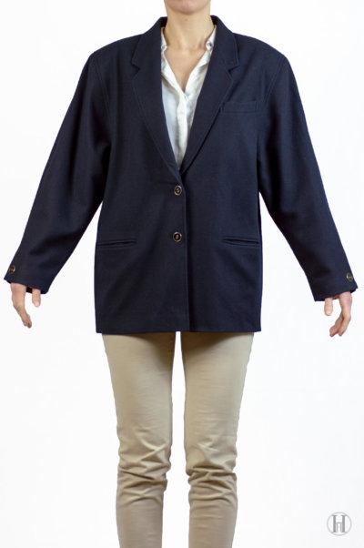 Vintage Cashmere Blazer Front