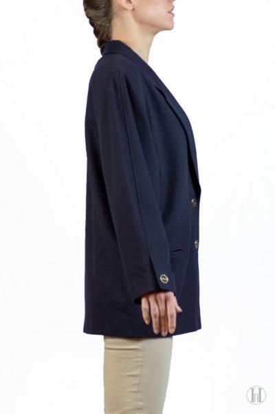 Vintage Cashmere Blazer Side