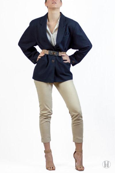 Vintage Cashmere Blazer Sexy Model